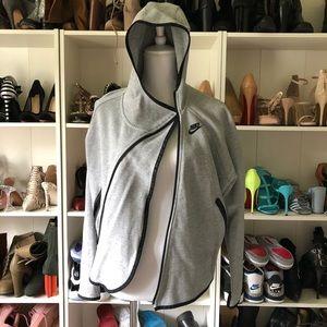 Nike tech fleece grey jacket sz S